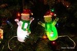 b snowmen